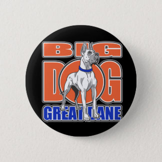 Badge Rond 5 Cm Grand great dane