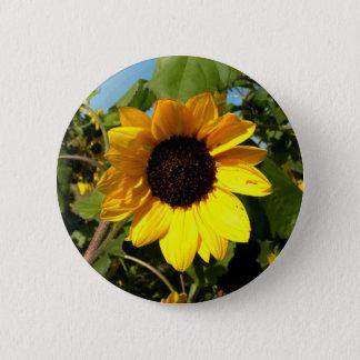 Badge Rond 5 Cm Grand jaune