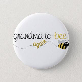 Badge Rond 5 Cm Grand-maman d'abeille au T-shirt encore