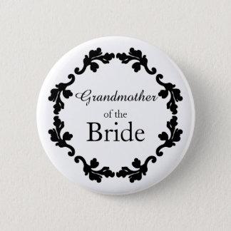 Badge Rond 5 Cm Grand-mère de la jeune mariée