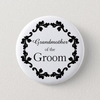 Badge Rond 5 Cm Grand-mère du marié