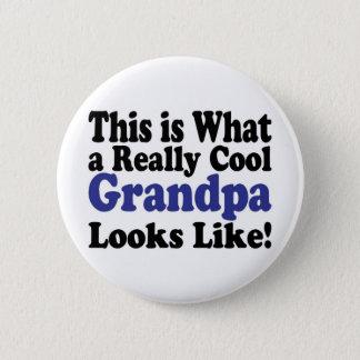 Badge Rond 5 Cm Grand-papa frais