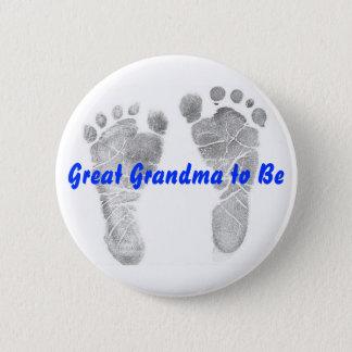 Badge Rond 5 Cm Grande grand-maman à être