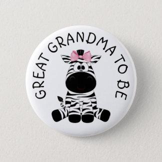 Badge Rond 5 Cm Grande grand-maman à être bouton de baby shower de
