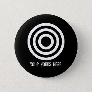 Badge Rond 5 Cm Grandeur d'Adinkrahene |, caractère, direction