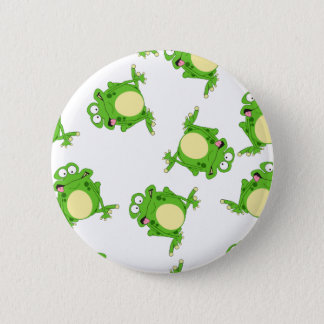 Badge Rond 5 Cm Grenouille