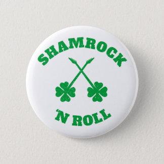 Badge Rond 5 Cm Grunge de petit pain de n de shamrock '