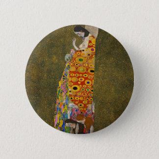 Badge Rond 5 Cm Gustav Klimt - espoir II - belle illustration