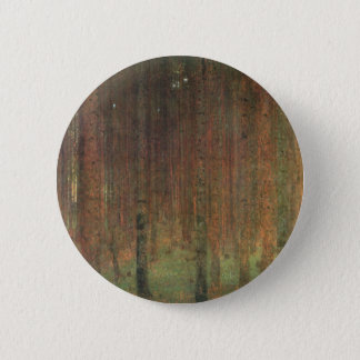 Badge Rond 5 Cm Gustav Klimt - forêt de pin