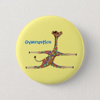 Badge Rond 5 Cm Gymnastique de Rainbwo par Happy Juul Company