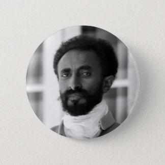 Badge Rond 5 Cm Haile Selassie
