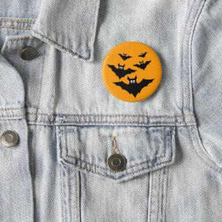 Badge Rond 5 Cm Halloween mignon frais manie la batte le bouton