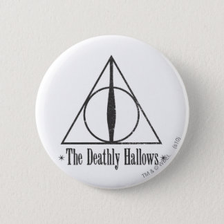 Badge Rond 5 Cm Harry Potter | le de mort sanctifie l'emblème