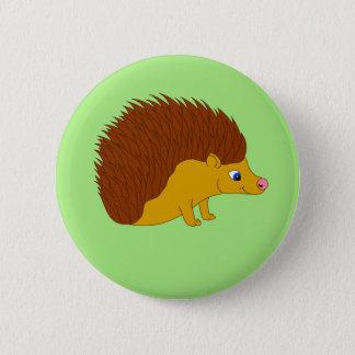 Badge Rond 5 Cm Hérisson d'illustration de vecteur