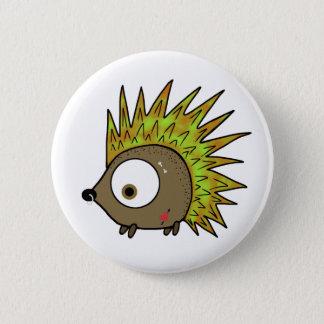 Badge Rond 5 Cm Hérisson punk
