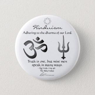 Badge Rond 5 Cm Hindouisme - bouton de passage
