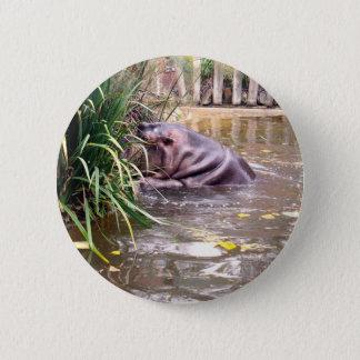 Badge Rond 5 Cm Hippo_Climb, _