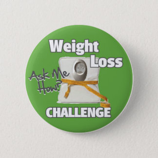 Badge Rond 5 Cm HL de défi de perte de poids