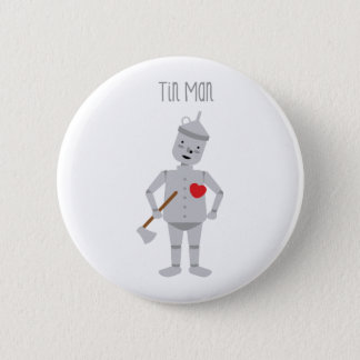 Badge Rond 5 Cm Homme de bidon