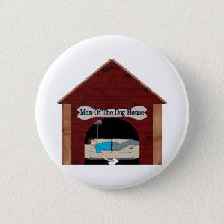 Badge Rond 5 Cm Homme de la niche