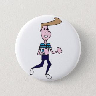 Badge Rond 5 Cm Homme de Manovache