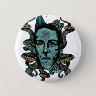 Badge Rond 5 Cm Howard Phillips Lovecraft