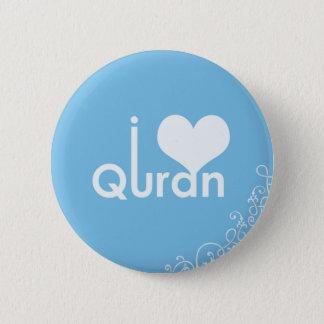 Badge Rond 5 Cm I Quran de coeur
