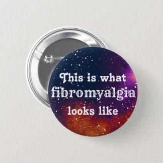 Badge Rond 5 Cm Identité personnalisable de galaxie de