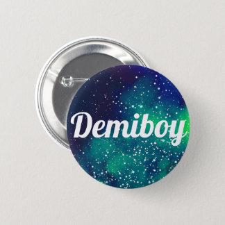 Badge Rond 5 Cm Identité personnalisable de galaxie de Demiboy