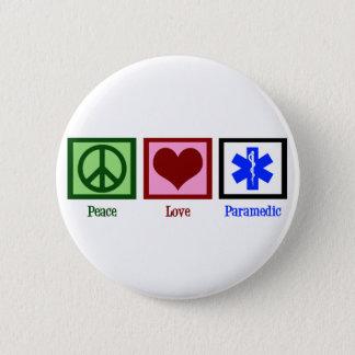 Badge Rond 5 Cm Infirmier d'amour de paix