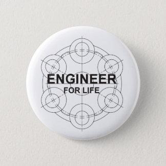 Badge Rond 5 Cm Ingénieur pendant la vie