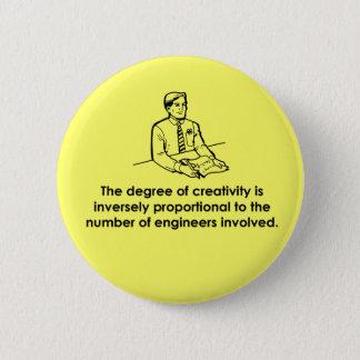 Badge Rond 5 Cm Ingénieurs et créativité