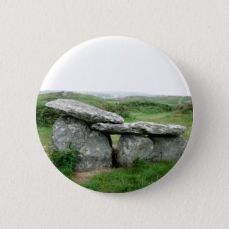 Badge Rond 5 Cm Insigne archéologique de l'Irlande de tombe formé