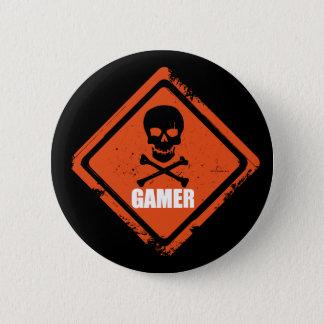 Badge Rond 5 Cm Insigne/bouton de Gamer