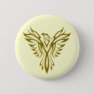 Badge Rond 5 Cm Insigne/bouton en hausse de Phoenix