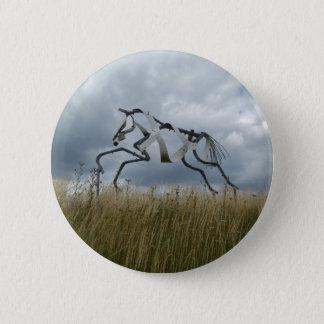 Badge Rond 5 Cm Insigne de cheval