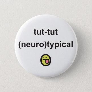 Badge Rond 5 Cm Insigne de conscience de syndrome d'Aspergers