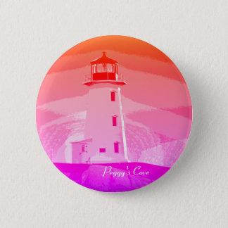 Badge Rond 5 Cm Insigne de goupille de N.S. Button de phare de la