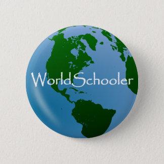 Badge Rond 5 Cm Insigne de Pin de WorldSchooler