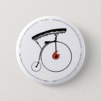 Badge Rond 5 Cm Insigne du numéro 6