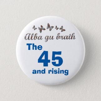 Badge Rond 5 Cm Insigne écossais de papillon de l'indépendance 45
