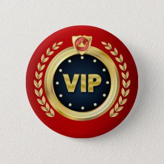 Badge Rond 5 Cm Insigne élégant d'accès de VIP