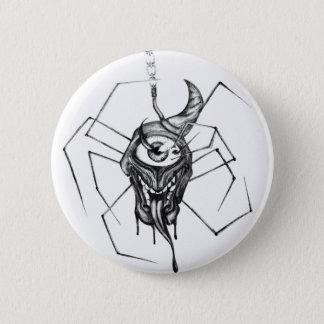 Badge Rond 5 Cm Insigne gothique d'araignée de cyclopes