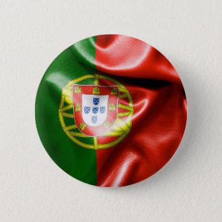Badge Rond 5 Cm Insigne rond du drapeau 6 cm du Portugal