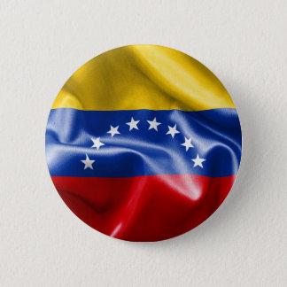 Badge Rond 5 Cm Insigne rond du drapeau 6 cm du Venezuela