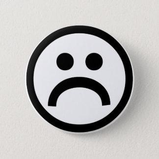 Badge Rond 5 Cm Insigne triste de garçons