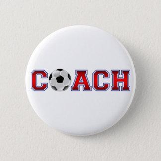 Badge Rond 5 Cm Insignes gentils du football d'entraîneur