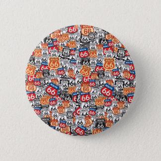 Badge Rond 5 Cm Itinéraire 66