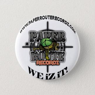 Badge Rond 5 Cm Itinéraire Recordz - nous de livre blanc iZ il !