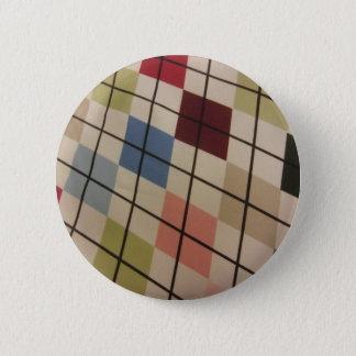 Badge Rond 5 Cm Jacquard